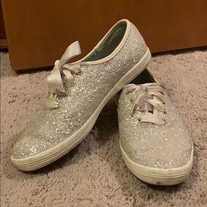 KEDS Sparkly Wedding Shoes